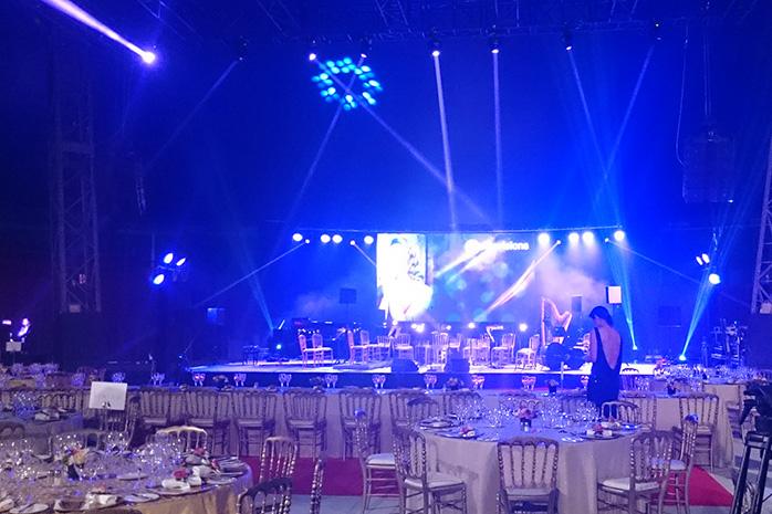Gala Monaco Charity business Monaco evening event Chapiteau de Fontivieille Private event Succes Event