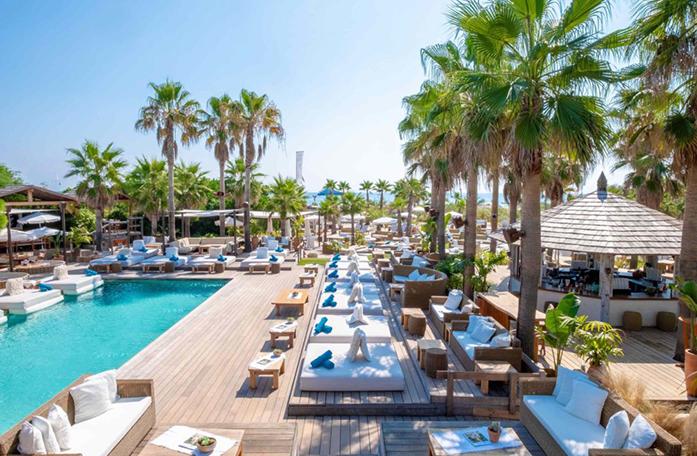 Festive pool St Tropez, Pool party st tropez, Succes Event