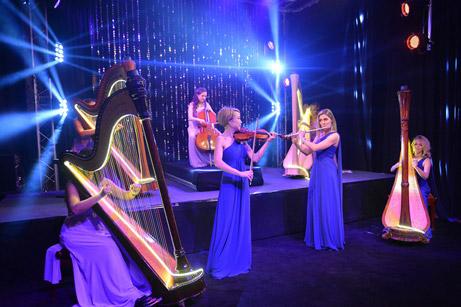 focus 10 concert prive classique harpe france cote d azur french riviera france groupe musique organisateur de concert